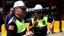 BODRUM KAYMAKAMI - Muğla'da Bayram Trafiğine Havadan Denetim