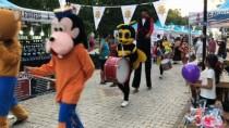 CANLI HEYKEL - (Özel) Pazarcık'ta 1. Peynir Festivali Başladı