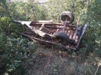 Traktör Uçurumdan Yuvarlandı Açıklaması 1 Ölü