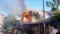 Yalova'da Ev Yangını
