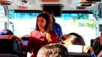 Yalova Valisi Tuğba Yılmaz Çocuklara 'Kırmızı Düdük' Dağıttı