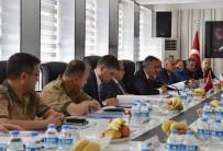 ULAŞ AKHAN - Ağrı'da '86. Alt Güvenlik Komite' Toplantısı Yapıldı