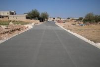 VİRANŞEHİR - Akçakale'de Beton Yol Uygulaması Sürüyor