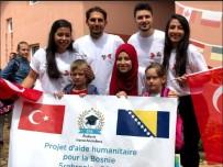 MAVİ MARMARA - Avrupalı Türk Öğrencilerden Boşnak Yetimlere Yardım Eli