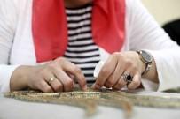 BAĞCıLAR BELEDIYESI - Bağcılarlı Kadınlar Stres Ve Sıkıntılarını Filografi Yaparak Atıyorlar