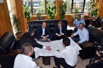 MEHMET YÜKSEL - Başkan Altay, Esnaf Odalarının Başkanlarını Ziyaret Etti