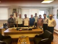 PANCAR EKİCİLERİ KOOPERATİFİ - Başkan Dişli'den, APEK'e Ziyaret