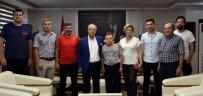 CENGIZ YıLMAZ - Başkan Kayda, Türkiye Şampiyonunu Ağırladı
