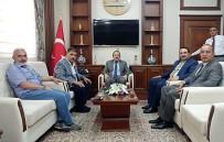 Bayburt Milletvekili Battal Ve Adalet Komisyonu Başkanı Tacın'dan Vali Pehlivan'a Ziyaret