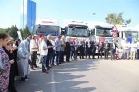 YARDIM MALZEMESİ - Bursa'dan Suriye'ye Yardım Konvoyu