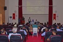 CEYLANPINAR - Ceylanpınar Belediyesi Personeline İş Sağlığı Ve Güvenliğini Anlattı