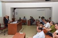MUSTAFA VURAL - Denizli'de İlçe Milli Eğitim Müdürleri Toplantısı Yapıldı