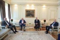 GALATASARAY BAŞKANı - Galatasaray Başkanı Mustafa Cengiz'den İBB Başkanı Uysal'a Ziyaret