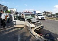 ZİNCİRLEME KAZA - Gebze'de Zincirleme Kaza Açıklaması 4 Yaralı