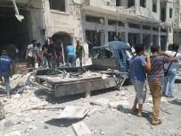 TAHRIR - İdlib'de Patlama Açıklaması 1 Ölü, 17 Yaralı