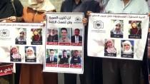 KIZILHAÇ - İsrail'in Basın İhlalleri Gazze'de Protesto Edildi