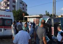 KIRMIZI IŞIK - İzmir'de Otomobil İle Minibüs Çarpıştı Açıklaması 6 Yaralı