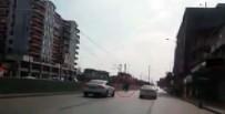 YARIŞ ATI - Karayolunda 'Yarış Atı' Paniği