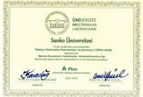 SANI KONUKOĞLU - SANKO Üniversitesi, 'A Plus Üniversite' Oldu
