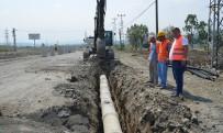 AHMET ŞAHIN - SASKİ, Tekkeköy'deki Alt Yapı Çalışmalarının Yüzde 85'İni Tamamladı