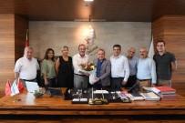 MUHITTIN BÖCEK - Sendika Genel Başkanlarından Böcek'e Teşekkür
