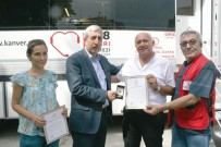 HÜSEYIN YıLMAZ - Sungurlu'da Kan Bağışçılarına Ödül