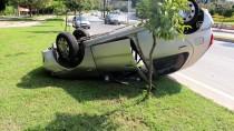 Adana'da Otomobil Takla Attı Açıklaması 2 Yaralı