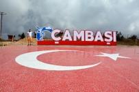 Çambaşı Yaylası'na Seramikten Dev Türk Bayrağı