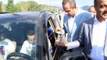 Çankırı'da Sürücü Ve Yolculara Kaya Tuzu Ve Kızılcık Ekşisi İkramı