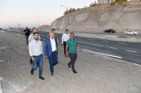 CEMAL GÜRSEL - Güney Kuşak Yolunun Kernek-Beydağı Hattında Sona Doğru Gelindi