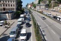 MOTORİZE EKİP - Karadeniz Sahil Yolu'nda Tatil Yoğunluğu