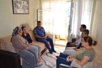 KILIMLI - Kaymakam Turan, Şehit Ailelerini Yalnız Bırakmadı