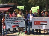ACıMASıZ - Kayseri'de Yaşayan Iraklılar Sembolik Dolar Yaktı