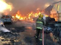KUVEYT - Kuveyt'te Pazar Yerinde Yangın Açıklaması 7 Yaralı