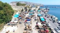 BÜYÜKBAŞ HAYVANLAR - Sinop'ta Kurban Pazarında Yoğunluk