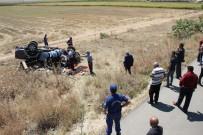 Tatilden Dönen Ailenin Bulunduğu Kamyonet Takla Attı Açıklaması 1 Ölü, 3 Yaralı