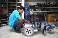 NİLÜFER - Tekerlekli Sandalyeler Nilüfer'de Ücretsiz Tamir Ediliyor