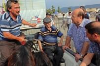 MESUT ÖZAKCAN - Başkan Özakcan Hayvan Pazarında Vatandaşlarla Buluştu