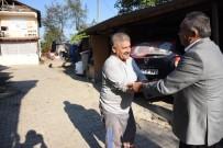 PIYADE - Başkan Şehit Ailesini Unutmadı