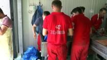ÜSKÜP - Deniz Feneri'nden Makedonya'ya Kurban Bağışı