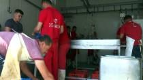 ÜSKÜP - İHH Makedonya'ya Kurban Eti Dağıttı