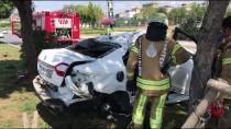 LÜTFİ KIRDAR - Kartal'da Trafik Kazası  Açıklaması 2 Yaralı