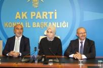 UĞUR İBRAHIM ALTAY - Leyla Şahin Usta Açıklaması 'Konya'yı En İyi Şekilde Temsil Edeceğiz'