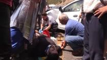 Tunceli'de İki Otomobil Çarpıştı Açıklaması 1 Ölü, 7 Yaralı
