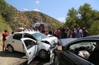 Tunceli'de Trafik Kazası Açıklaması 1 Ölü, 7 Yaralı