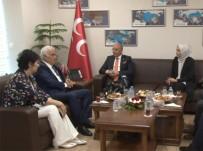 DİN ADAMI - AK Parti'den MHP'ye Bayram Ziyareti