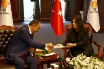 BAYRAM ZİYARETİ - HÜDA PAR Heyetinden AK Parti'ye Bayram Ziyareti