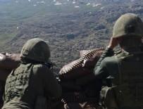 Kırmızı kategoride aranan PKK'lı terörist etkisiz hale getirildi