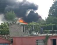 Mangal Ateşi 4 Evi Yaktı