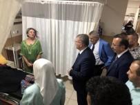 AHMET SOLEY - Sağlık Bakan Yardımcısı Halil Eldemir, Nevşehir Devlet Hastaneni Ziyaret Etti